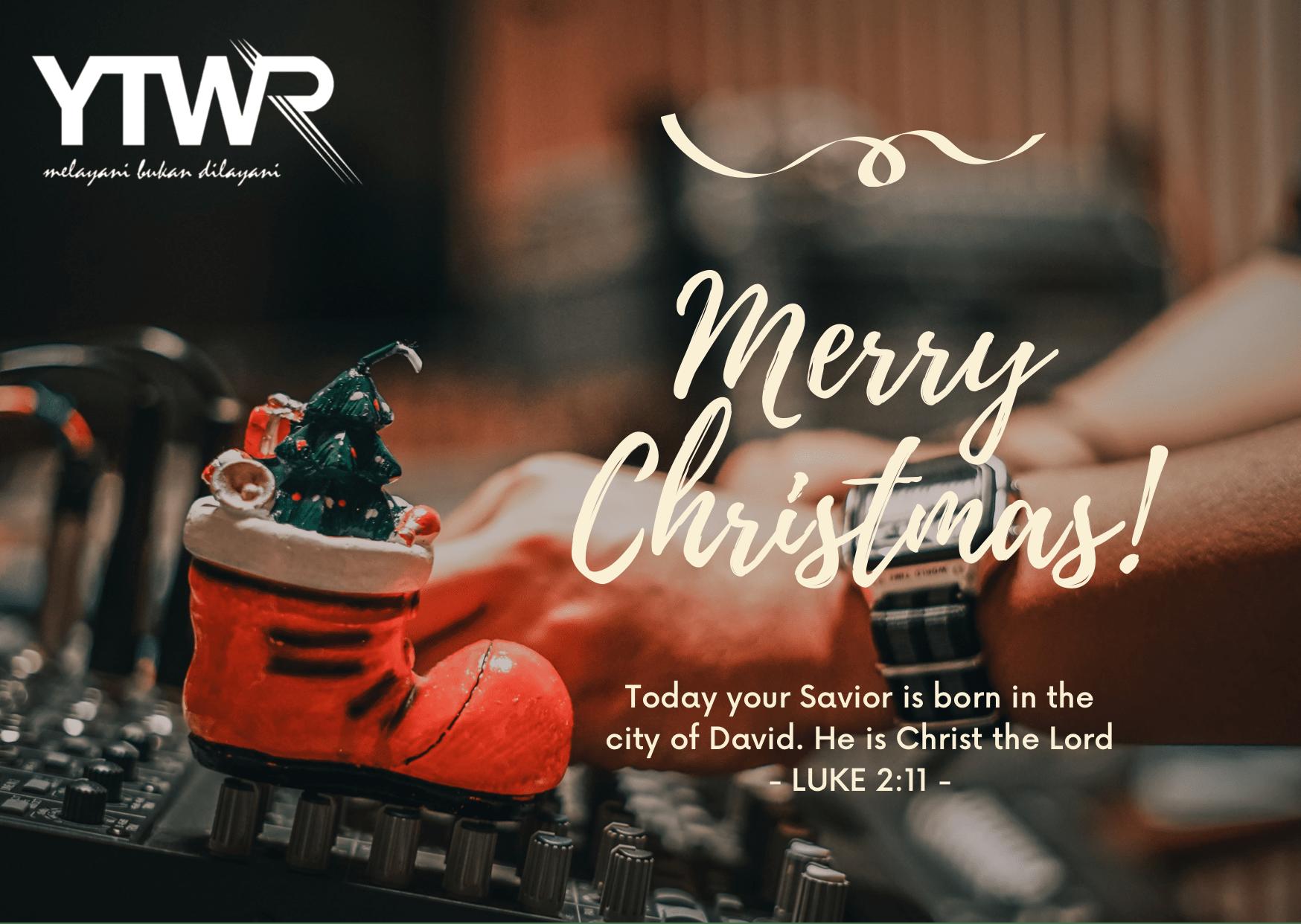Menyambut Natal dan Tahun Baru 2021